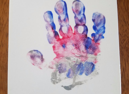 Craft Time - Hand Print Drink Coasters