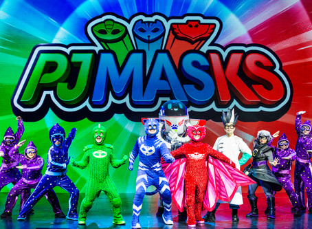 The Hanover Theater Presents  PJ Masks Live! Save The Day!