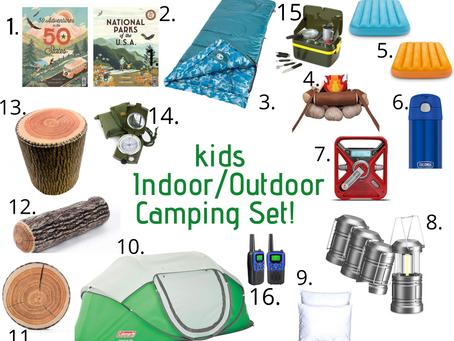 The Ultimate Indoor/Outdoor Kids Camping Set!
