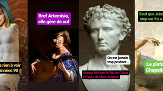 Vous êtes passionné d'Histoire de l'art et souhaitez continuer à voir vos œuvres préférés?