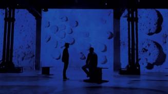 «Yves Klein, l'infini bleu», l'exposition immersive qui rend hommage à la Méditerranée.