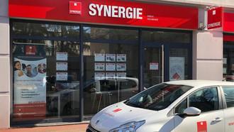 Sophie Sanchez, Directrice générale du groupe Synergie interviewée par les Echos Executives.