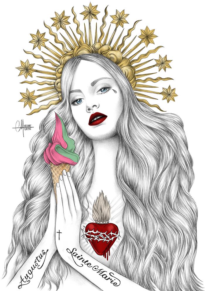Hélène Cayre illustration
