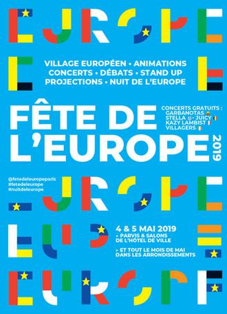 Célébrez la journée de l'Europe