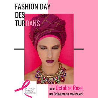 Fashion Day des Turbans: un défilé de mode organisé dans le cadre d'Octobre Rose.