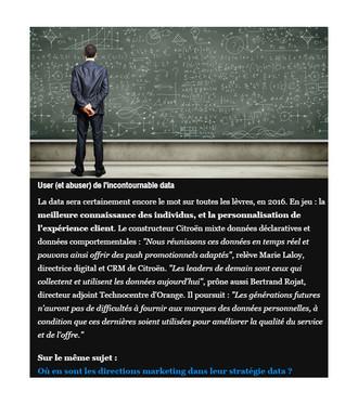 L'Agence Calliopé participe au challenge de la transformation du marketing : les 5 tendances du mark