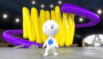 Palais Augmenté, le premier festival mondial dédié à la création artistique en réalité́ augmentée.