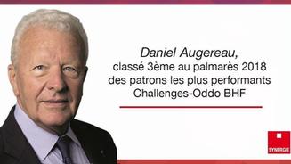 Daniel Augereau parmi les patrons les plus performants