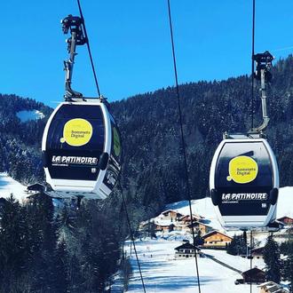 Du networking dans des télécabines de ski ?