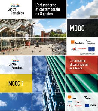 Des cours gratuits d'Art contemporain au Centre Pompidou.