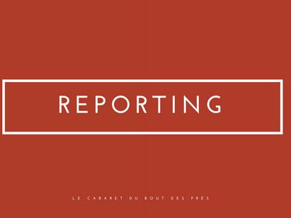 Le Cabaret du Bout des Prés - reporting réseaux sociaux