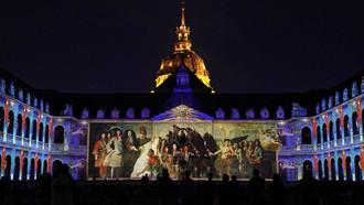 Destination Les Invalides pour profiter d'un spectacle grandiose en 3D.