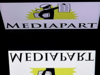 Forte progression du site d'information en ligne Mediapart.
