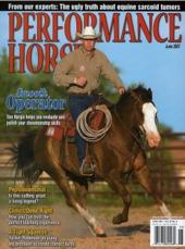 Van Hargis on Performance Horse Magazine