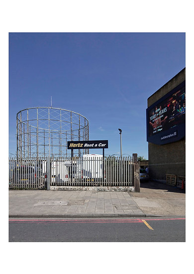 Matthew White 'Old Kent Road Gas Holder no.13'