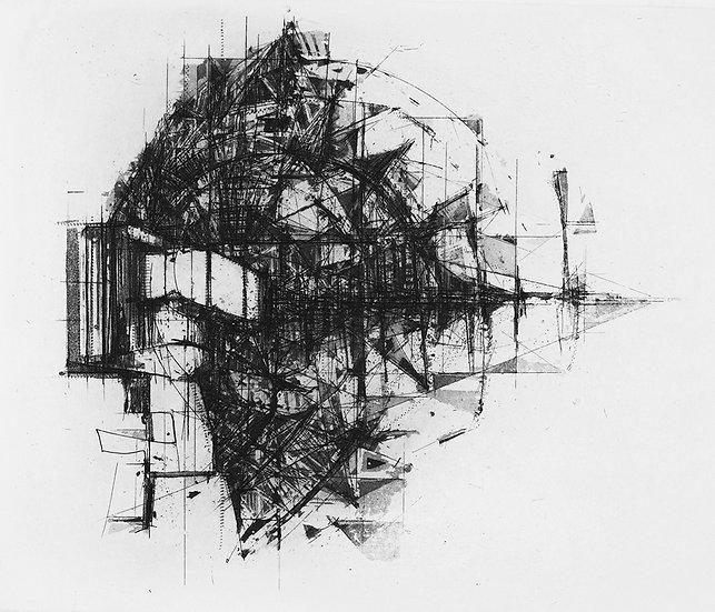 IAN CHAMBERLAIN 'Sat Study II'