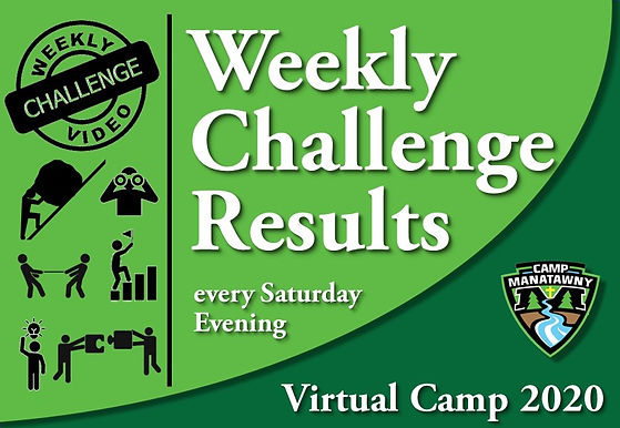 Virtual Camp - Weekly Challenge Results.