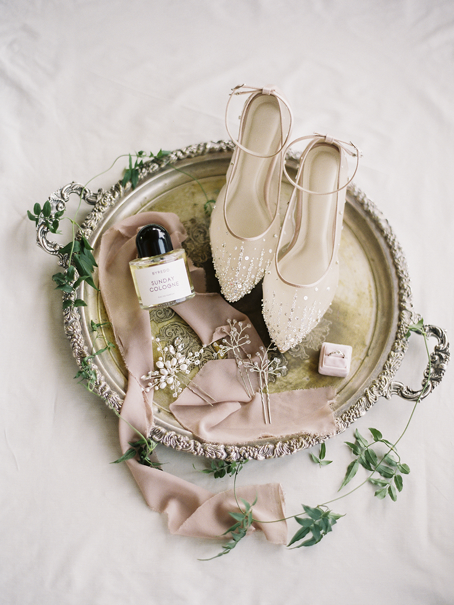 Bride's detail