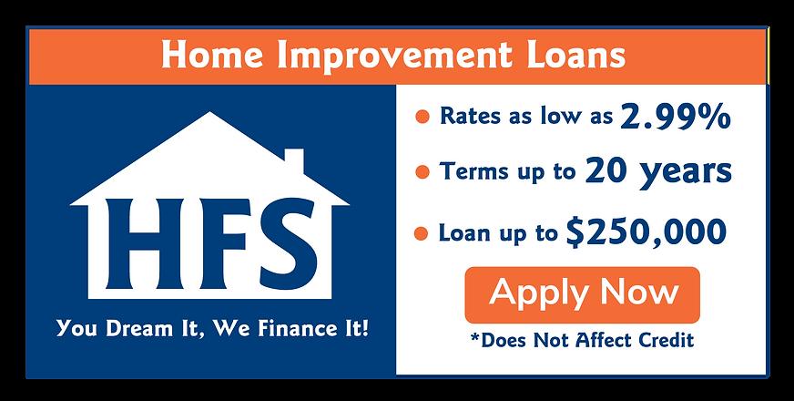 HFS Loans Banner