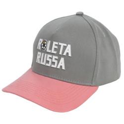 Boné roleta russa rosa