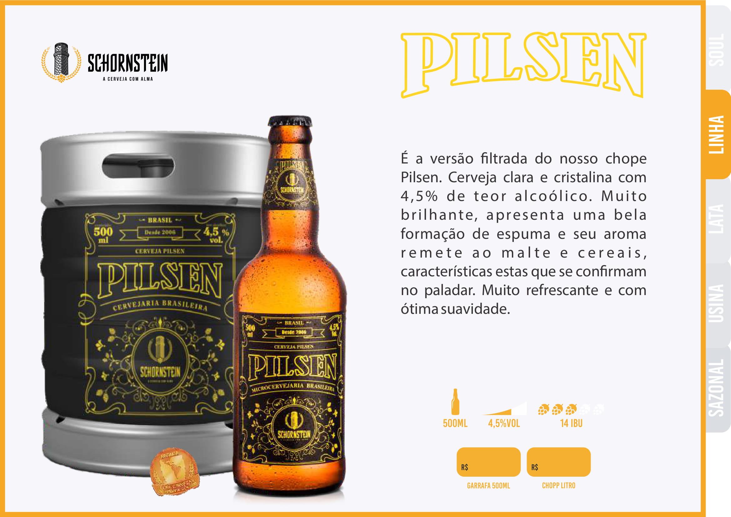 Schornstein Pilsen