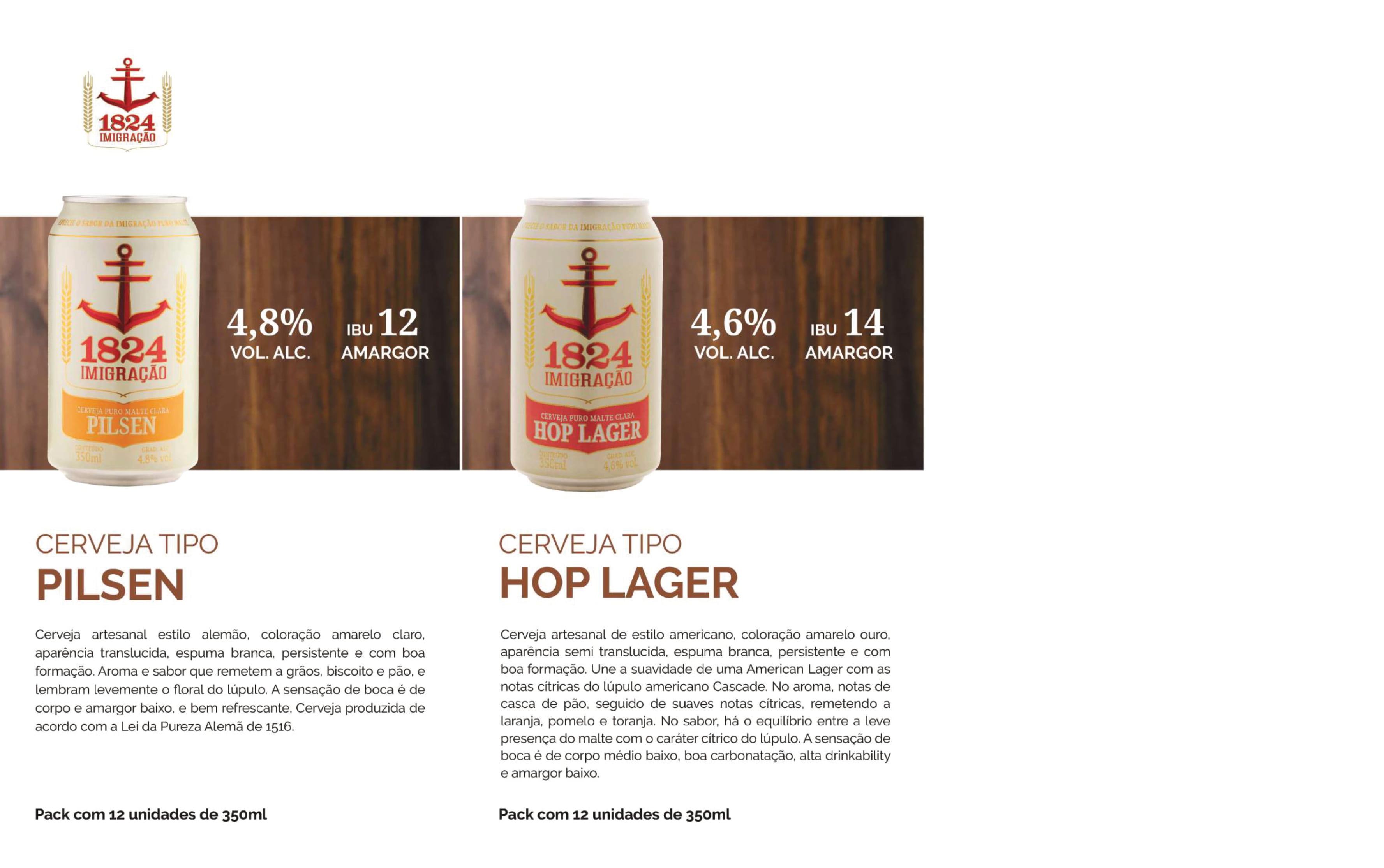 Cervejas Imigração Lata 350ml