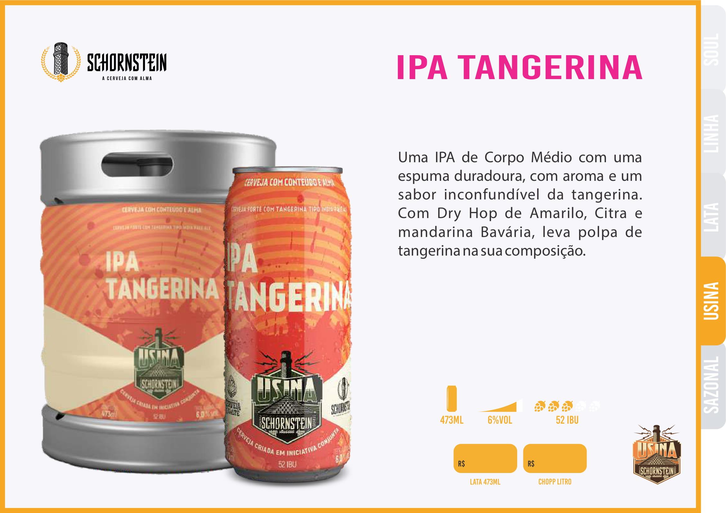 Schornstein IPA Tangerina