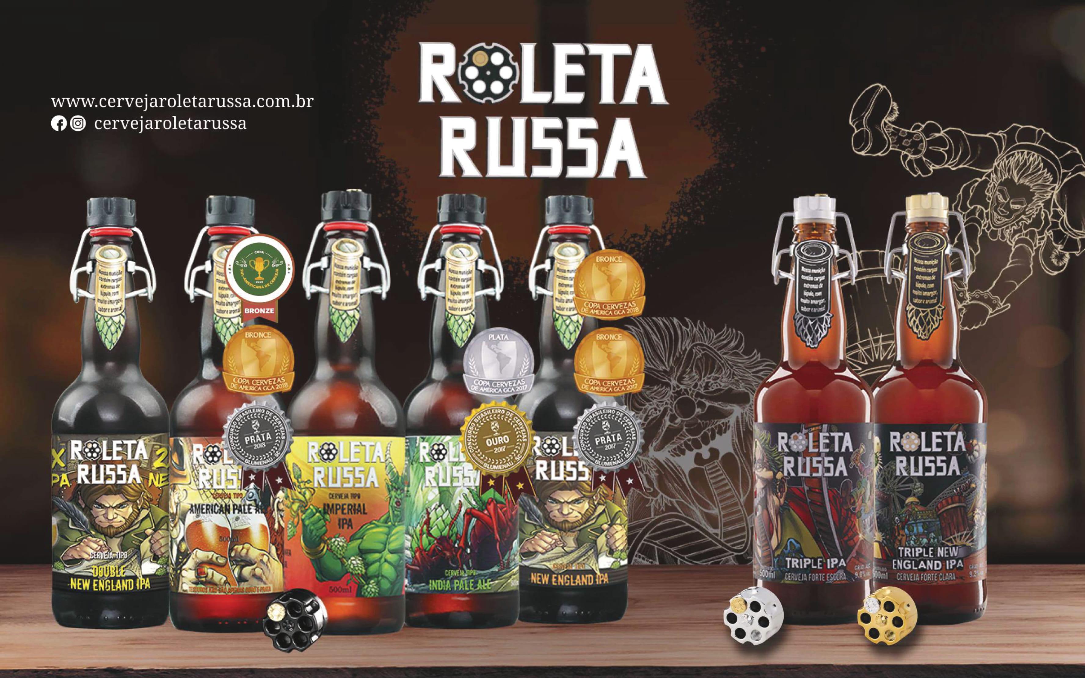 Cervejas Roleta Russa