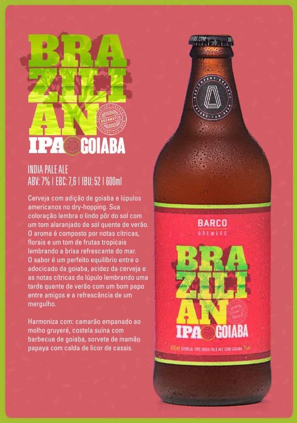 Brazilian IPA Goiaba