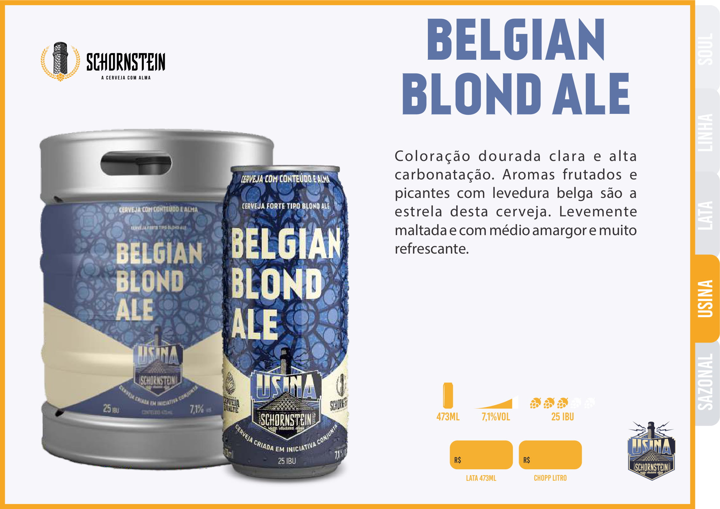 Schornstein Belgian Blond ALE