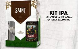 Kit Saint Bier Ipa + copo