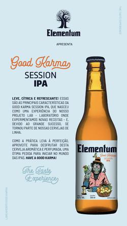 Cervejaria Elementum Session ipa