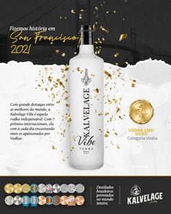 Vodka Kalvelage Vibe Ouro