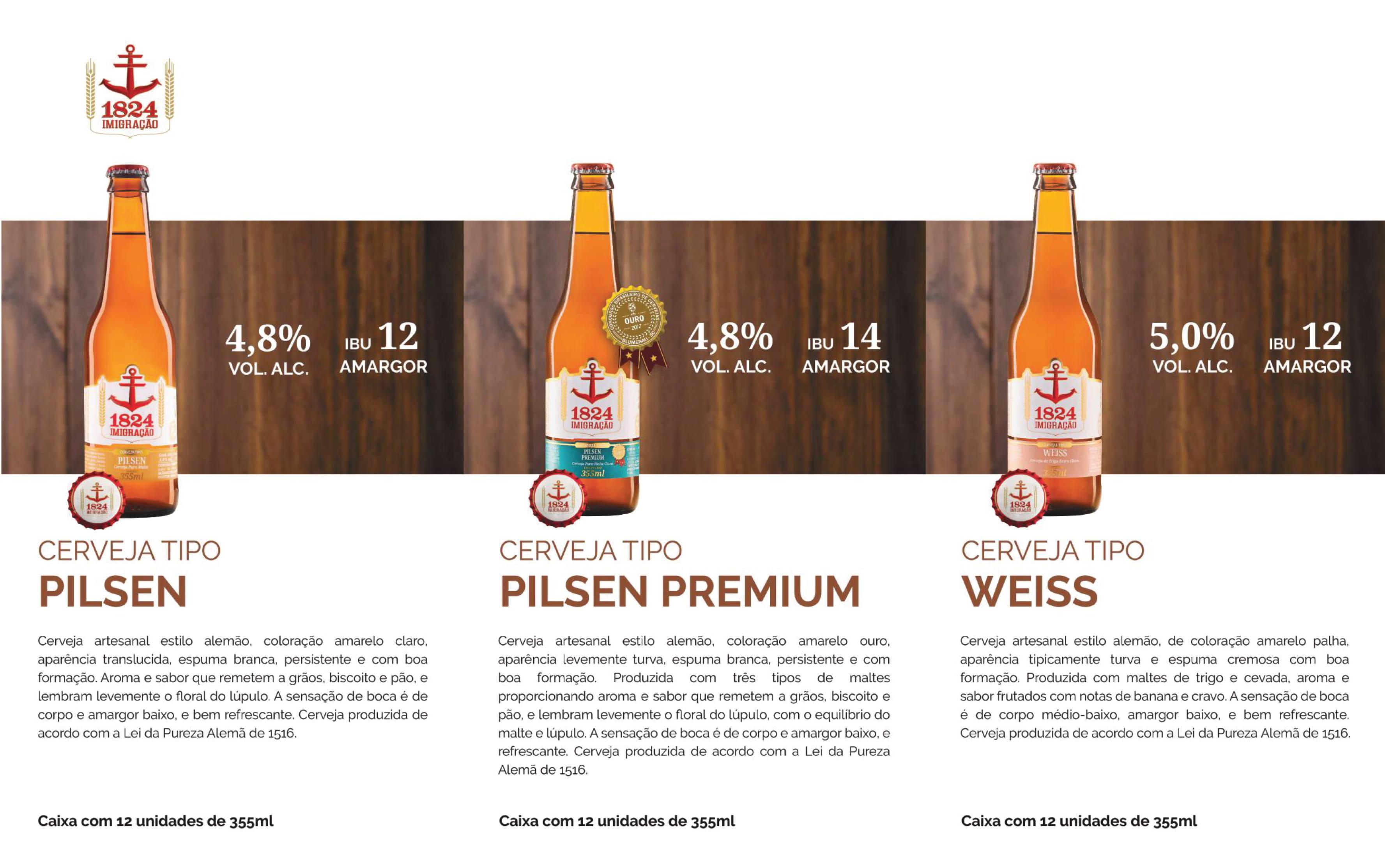 Cervejas Imigração Long Neck 355ml