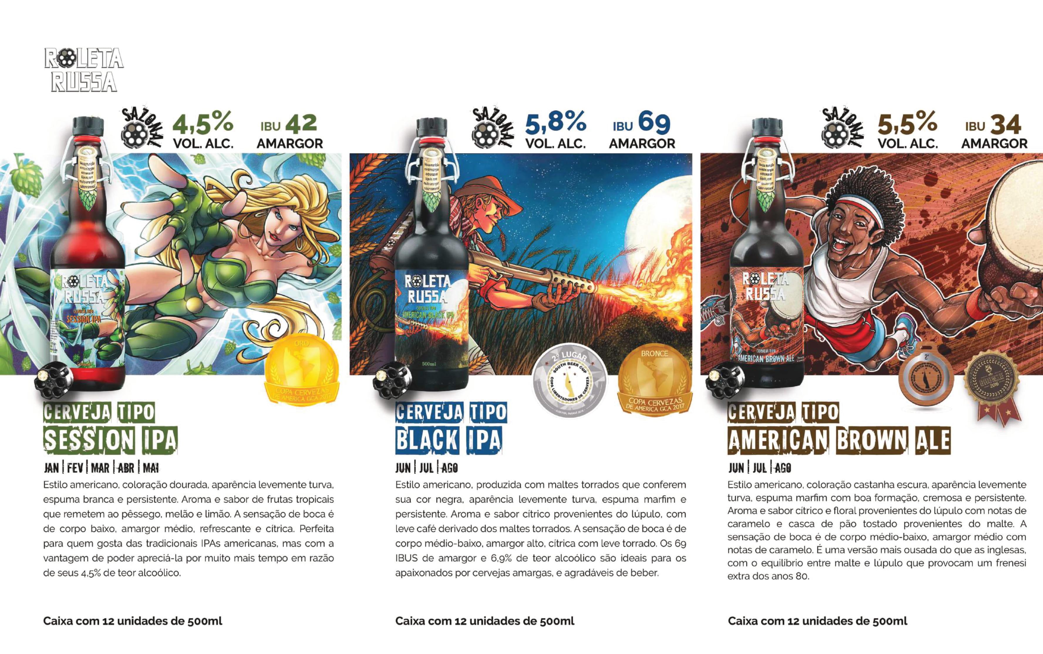 Cervejas Roleta Russa Sazonal