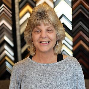 Jackie Vazquez owner of Havens Framemakers custom framing