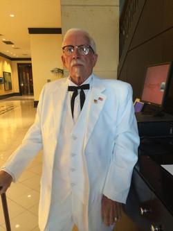 Colonel look-alike