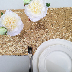 Gold-table-runner