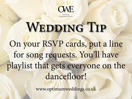 Our Wedding Planning Top Tips