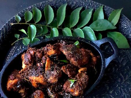 Kerala Pepper Chicken Fry