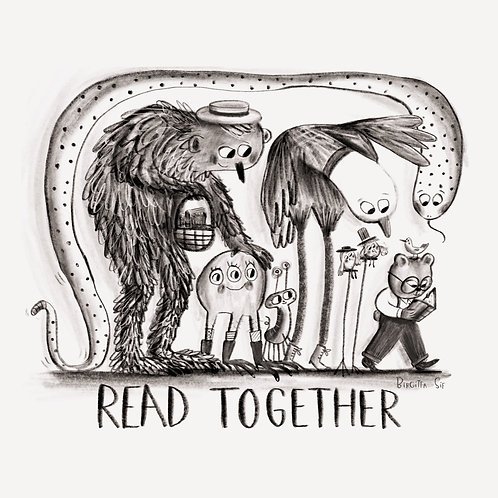 Read Together Colouring Page(Free with coupon)