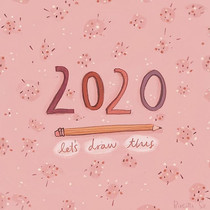 2020_ let's draw this ✏️🎉 I've been thi