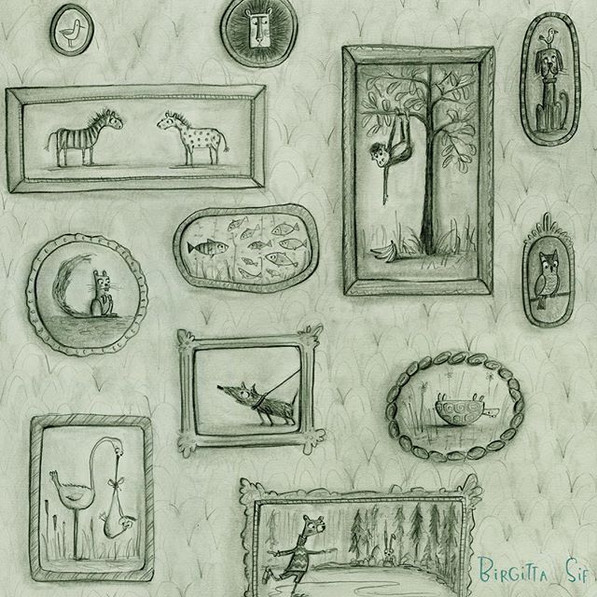 """From the endpapers of my book """"OLIVER"""" ?"""
