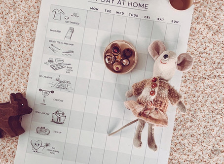 My day at Home: Free Printable