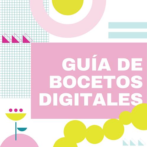GUÍA PARA HACER BOCETOS DIGITALES DE TUS FIESTAS. NIVEL 1