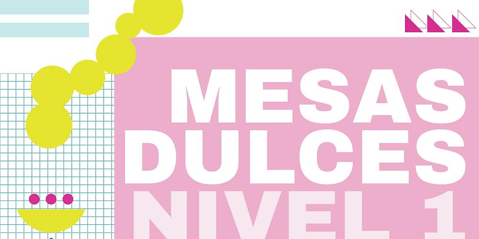 MESAS DULCES NIVEL 1.