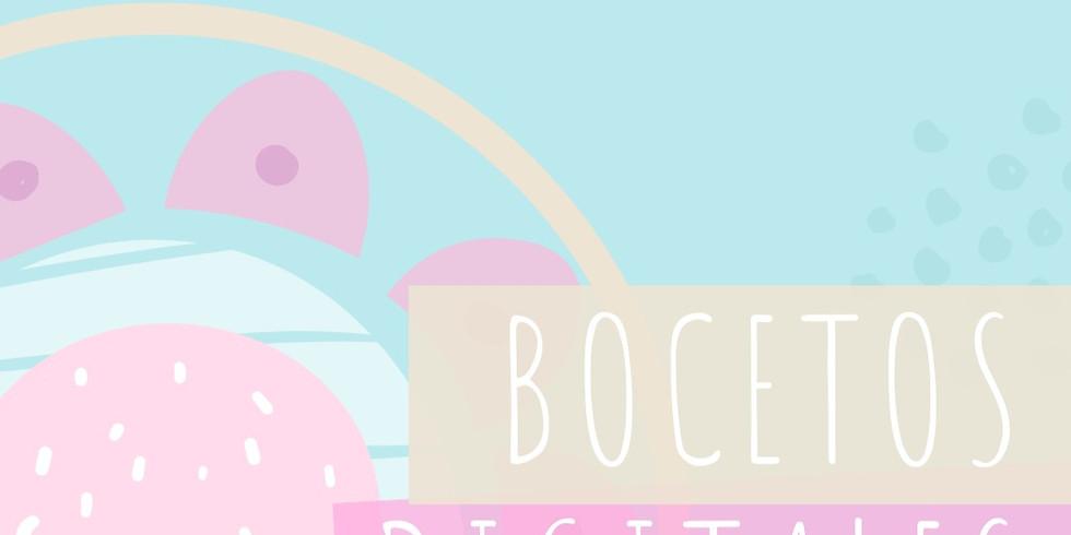 CLASE ONLINE DE BOCETOS DIGITALES. NIVEL 2