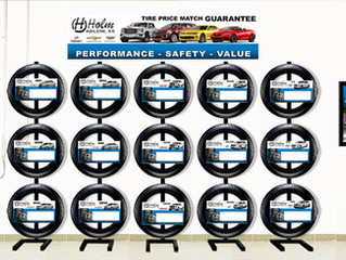 Holm Chevrolet Service Drive Tire Design