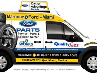 Maroone Ford of Miami Joins Tire Hunt