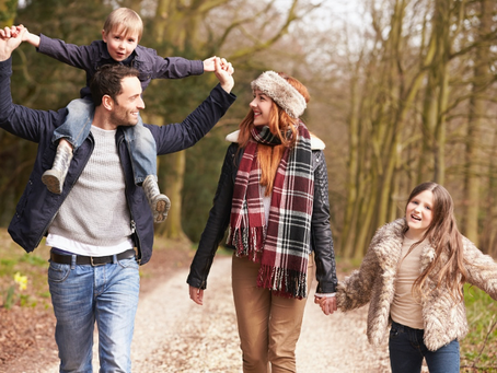 Ways to make Walking with Children Less Stressful!